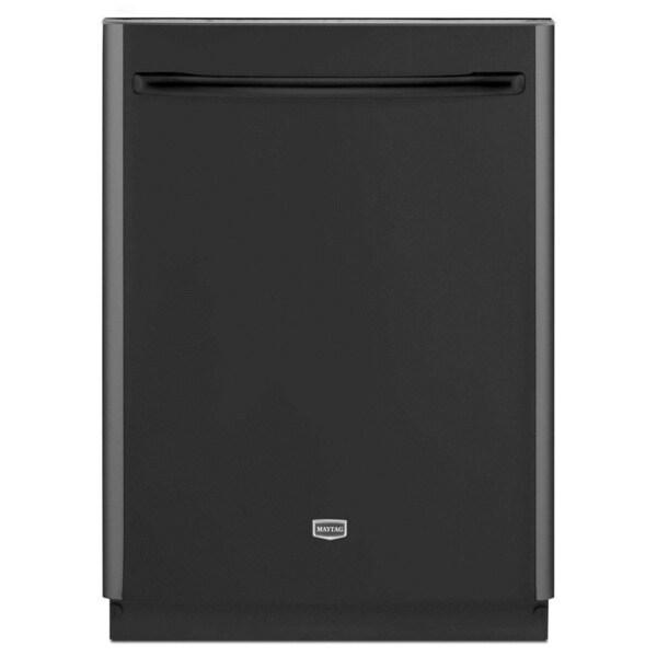 Maytag Jetclean Plus Black Dishwasher