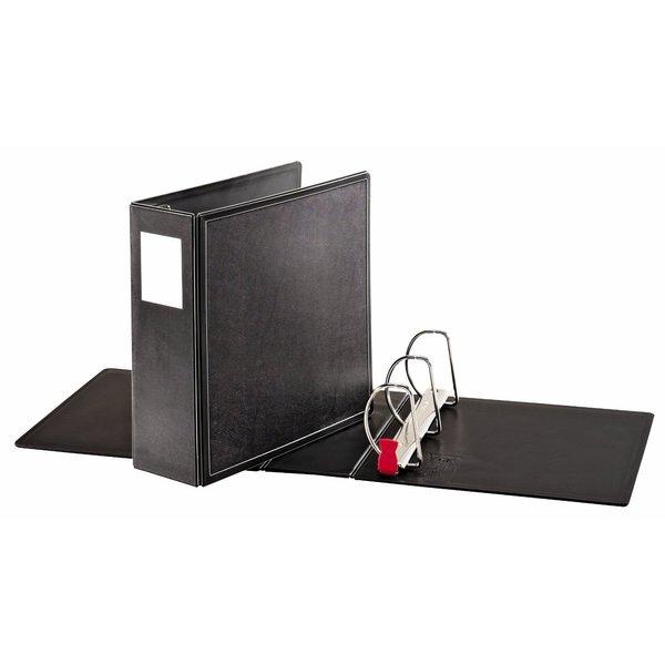 Cardinal SuperLife EasyOpen Locking Black 4-inch Slant-D Ring Binder (Pack of 6)