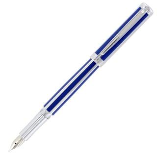 Sheaffer Intensity Ultramarine Striped Fountain Pen & Ballpoint Pen Set