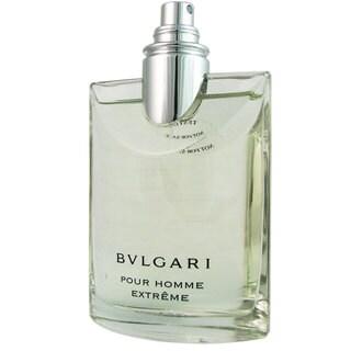Bvlgari Extreme Men's 3.3-ounce Eau de Toilette Spray (Tester)