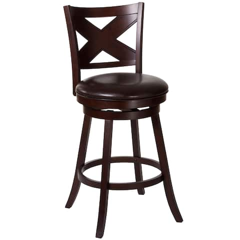 Ashbrooke Crossback Cherry Wood Stool