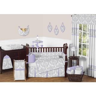 Link to Sweet Jojo Designs Elizabeth 9-piece Crib Bedding Set Similar Items in Bedding Sets