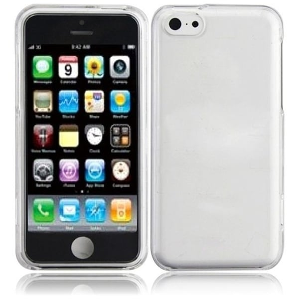 INSTEN Clear Hard Plastic PC Snap-on Phone Case Cover for Apple iPhone 5C