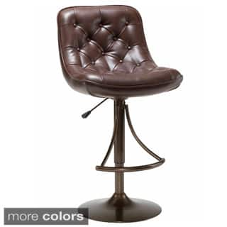 Grey Leather Counter Amp Bar Stools For Less Overstock Com