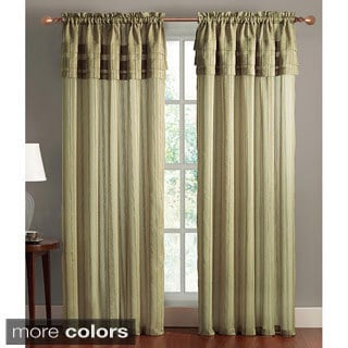 VCNY Meredian Layered 84-inch Curtain Panel