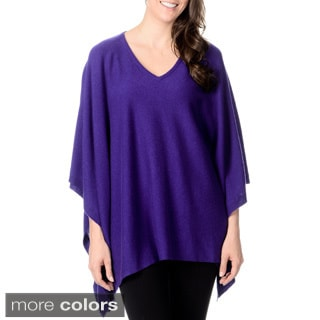 Ply Cashmere Women's Poncho (One Size)