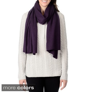 Ply Cashmere Women's Solid Scarf