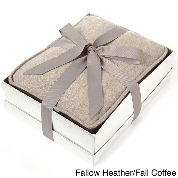 Cashmere Blend Blanket With Gift Box