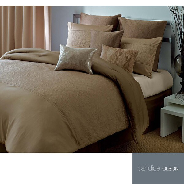 Candice Olson Tides 4-piece Comforter Set and Optional European Sham Separate