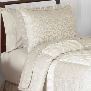 Sweet Jojo Designs Victoria 4-piece Twin Comforter Set