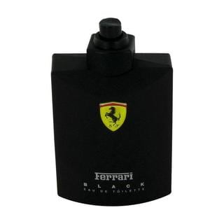 Ferrari Black Men's 4.2-ounce Eau de Toilette Spray (Tester)