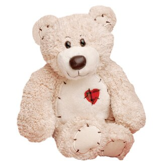 First & Main Valentine's Plush Stuffed Teddy Bear