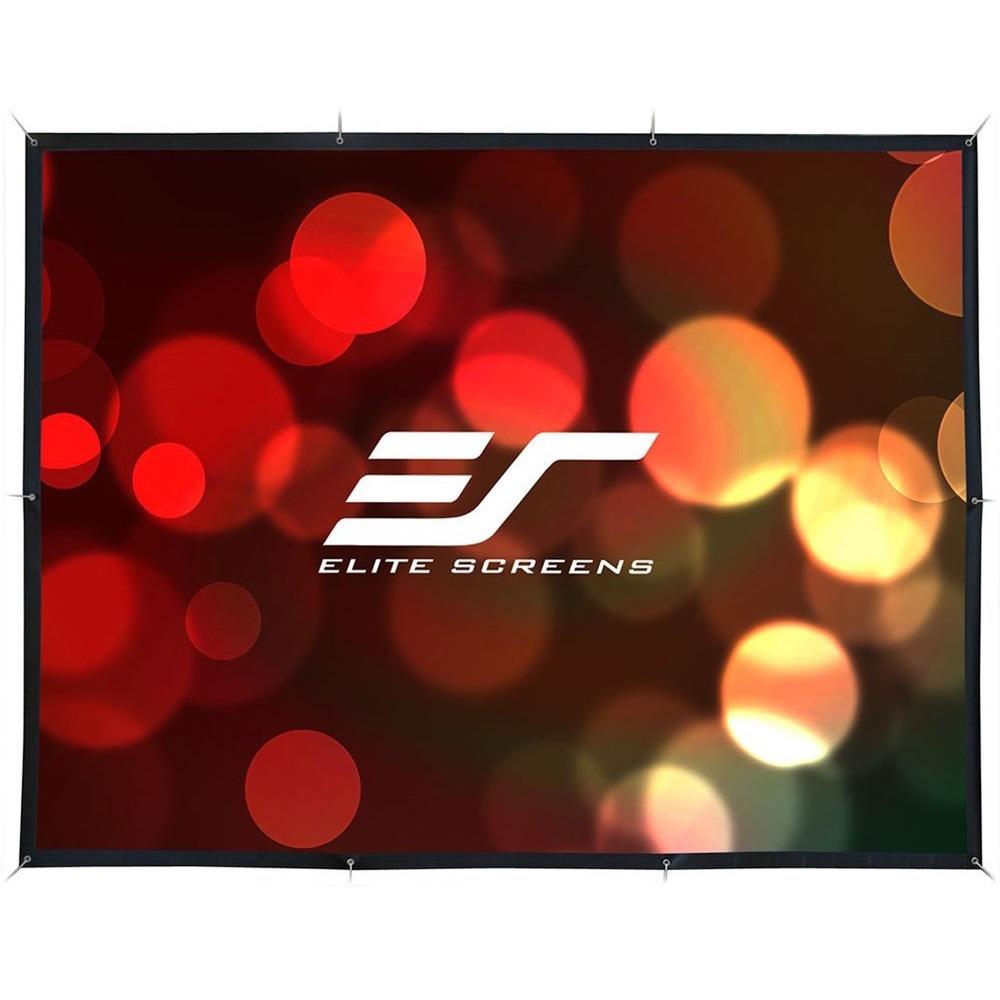 Elite Screens DIY 94-inch Outdoor Movie Screen, Black #DI...
