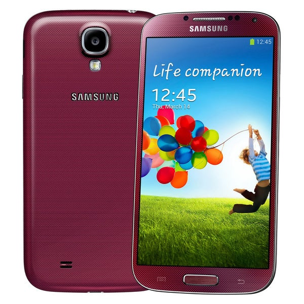 Samsung Galaxy S4 I9500 16GB Unlocked GSM Android Red Cell Phone