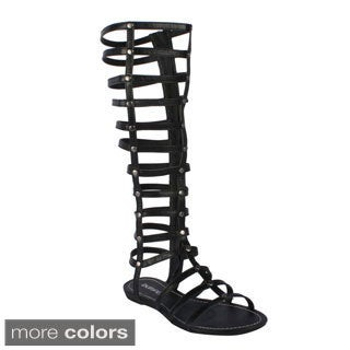 Women's 'Lory-90' Caged Gladiator Sandal Boots