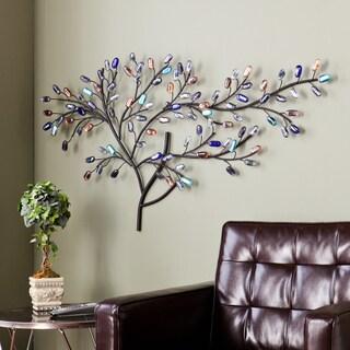 Harper Blvd Willow Multicolor Metal/ Glass Tree Wall Sculpture|https://ak1.ostkcdn.com/images/products/8749745/P15994539.jpg?_ostk_perf_=percv&impolicy=medium