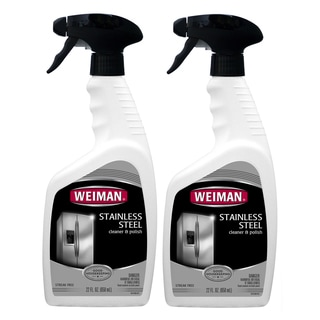 Weiman 22-ounce Stainless Steel Cleaner (Pack of 2)