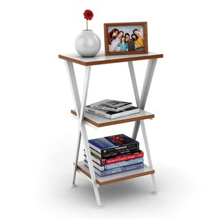 DarLiving Genius Shelving 3-tier White Accent Table