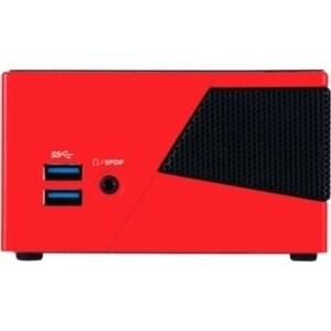 Gigabyte BRIX Pro GB-BXI5-4570R Desktop Computer - Core i5 i5-4570R - 0  Byte RAM - 0 Byte HDD - Mini PC - Red