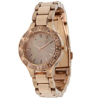 DKNY Women's Glitz NY8486 Rose Gold Automatic Watch|https://ak1.ostkcdn.com/images/products/8752984/DKNY-Womens-Glitz-NY8486-Rose-Gold-Automatic-Watch-P15997136.jpg?impolicy=medium