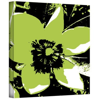 Art Wall Herb Dickinson 'Blooming Green' Gallery-wrapped Canvas Art