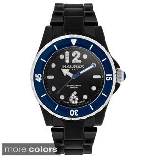 Haurex Italy Women's Beauty Black Polycarbonate Watch (2 options available)