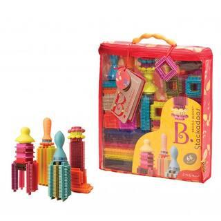 Toysmith Bristle Block Stackadoos|https://ak1.ostkcdn.com/images/products/8753188/Toysmith-Bristle-Block-Stackadoos-P15997490.jpg?impolicy=medium