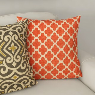 Clay Alder Home Kent Trails Orange Throw Pillow (4 options available)
