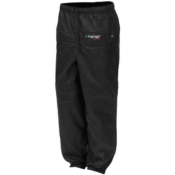 Frogg Toggs Men's Black Pro Action Pant