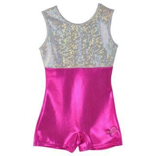 Obersee Kids Pink Gymnastics Biketard|https://ak1.ostkcdn.com/images/products/8753533/P15997591.jpg?impolicy=medium