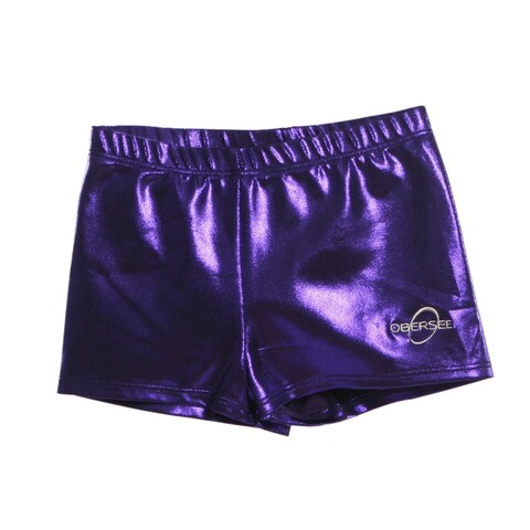 Obersee Kids Purple Gymnastics Shorts