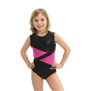 Obersee Kids Pink Diamond Gymnastics Leotard