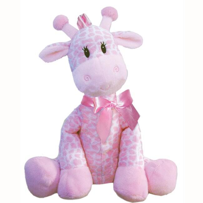 First Main Plush Pink Giraffe (Plush Stuffed Pink Giraffe...