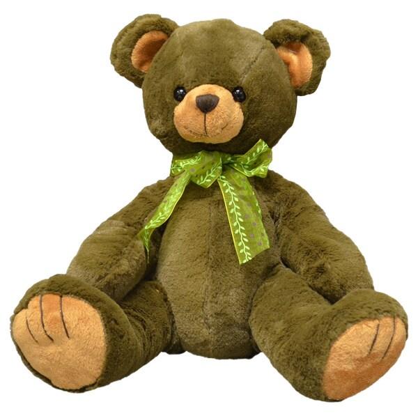 First & Main 10-inch Plush Brown Bear