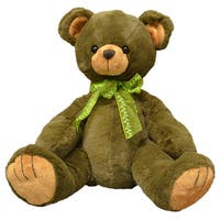 First & Main 10-inch Plush Brown Bear