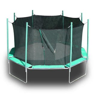 Magic Circle 16-foot Octagon Trampoline with Safety Cage|https://ak1.ostkcdn.com/images/products/8753570/P15997610.jpg?impolicy=medium