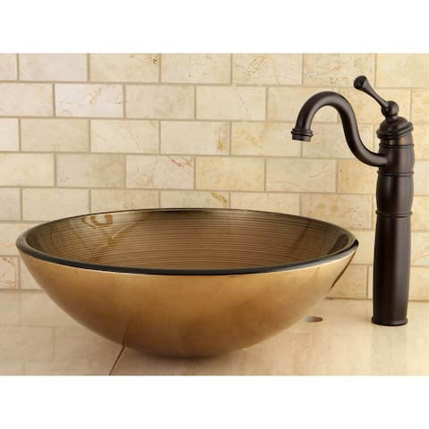 Buy Gold Finish Bathroom Sinks Online at Overstock.com | Our Best ...