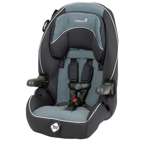 safety 1st summit booster car seat in seaport free shipping today overstock 15997628. Black Bedroom Furniture Sets. Home Design Ideas