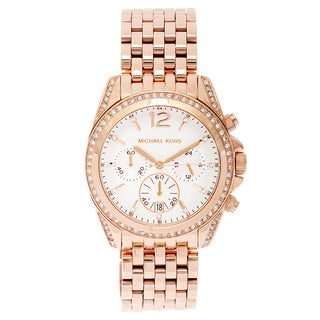 Michael Kors Women's MK5836 Pressley Chronograph Glitz Watch