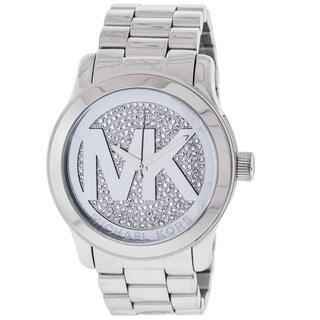 Michael Kors Women's Runway Silver Dial Watch