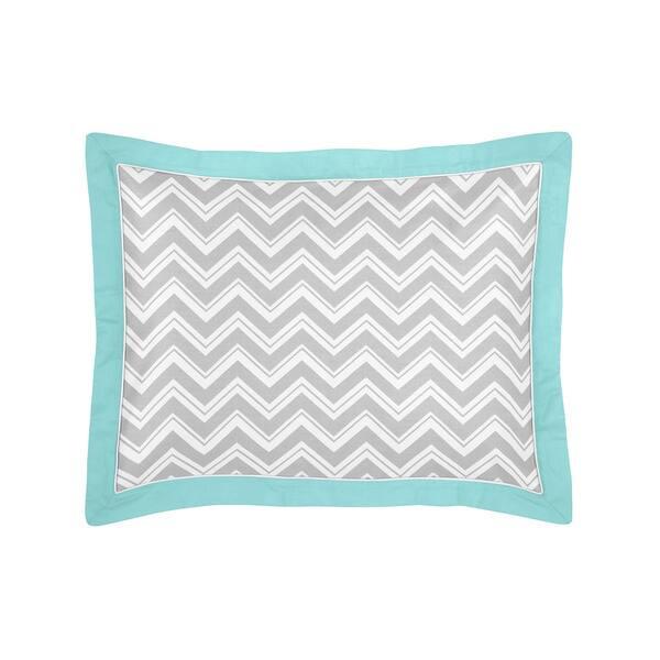 Sweet Jojo Designs Chevron Zigzag 5 Piece Toddler Comforter Set Overstock 8753845