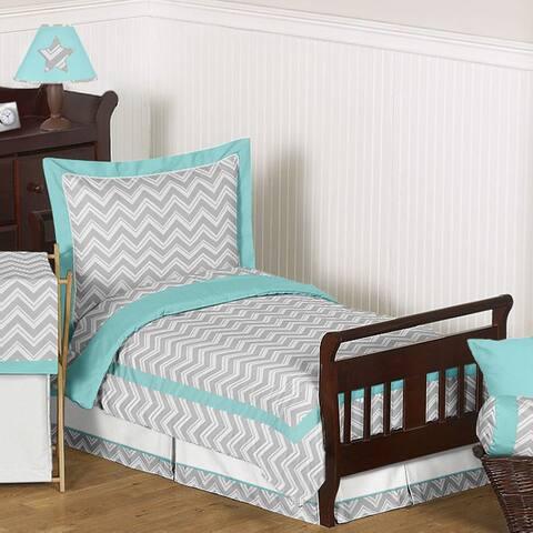 Sweet Jojo Designs Chevron Zigzag 5-piece Toddler Comforter Set