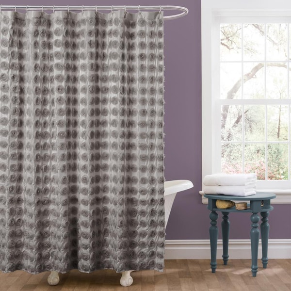 Lush Decor Emma Shower Curtain Free Shipping Today