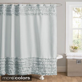 Lush Decor Syke Shower Curtain
