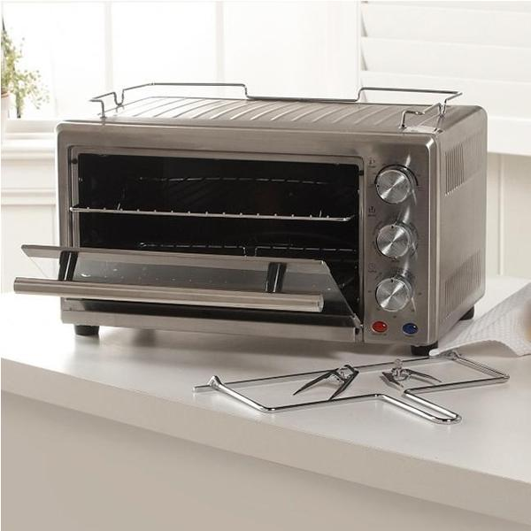 Wolfgang Puck 22-Liter Convection Toaster Oven with Rotisserie (Refurbished)