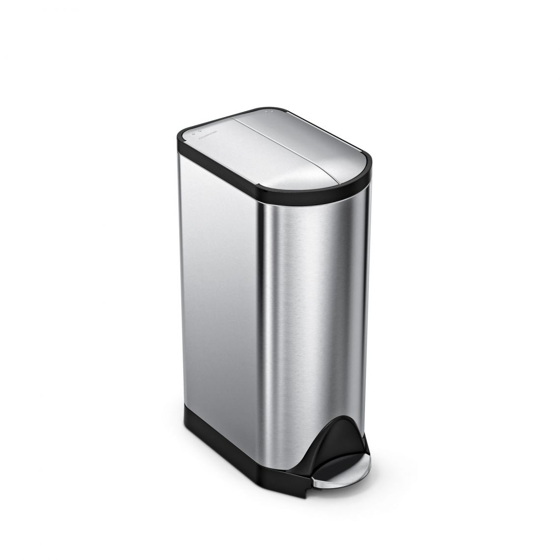 Simplehuman Butterfly Step Trash Can Fingerprint Proof Brushed Stainless Steel 30 Liters 8 Gallons