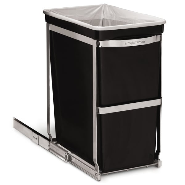 simplehuman Steel Pull-out Commercial Grade Can