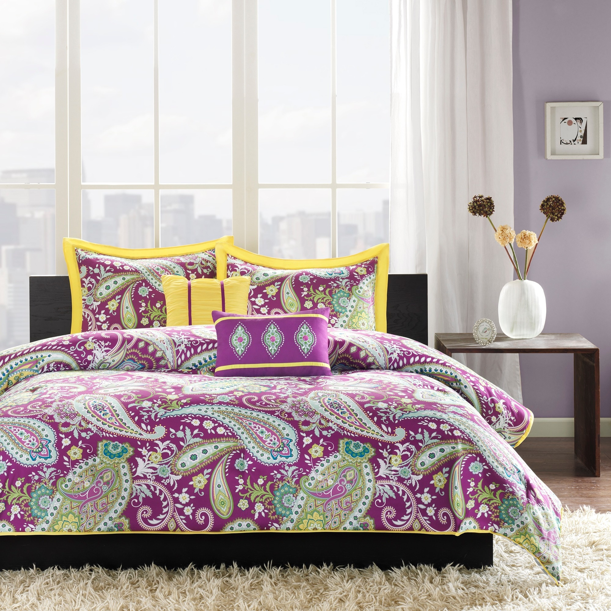 xfile and sheet pics ideas bedroom cotton trend plum sets set purple fascinating cute gray stunning style comforter of lavender
