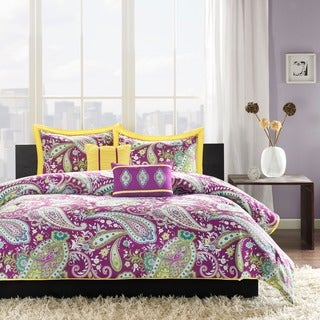 Intelligent Design Kayla Purple Comforter Set