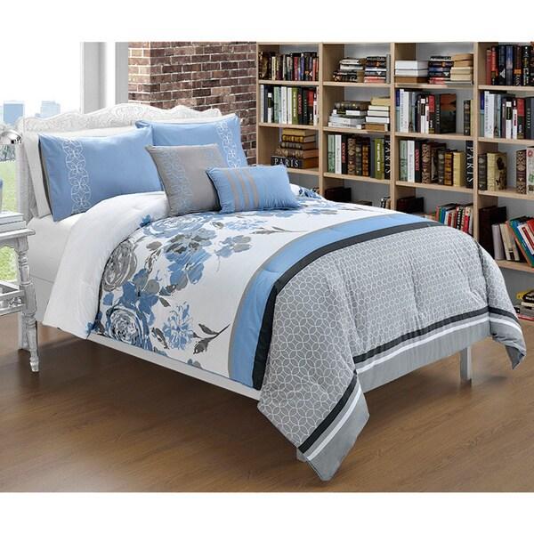 VCNY Tabitha 5-piece Cotton Comforter Set